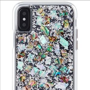 Accessories - Casemate mother of pearl iPhone X case